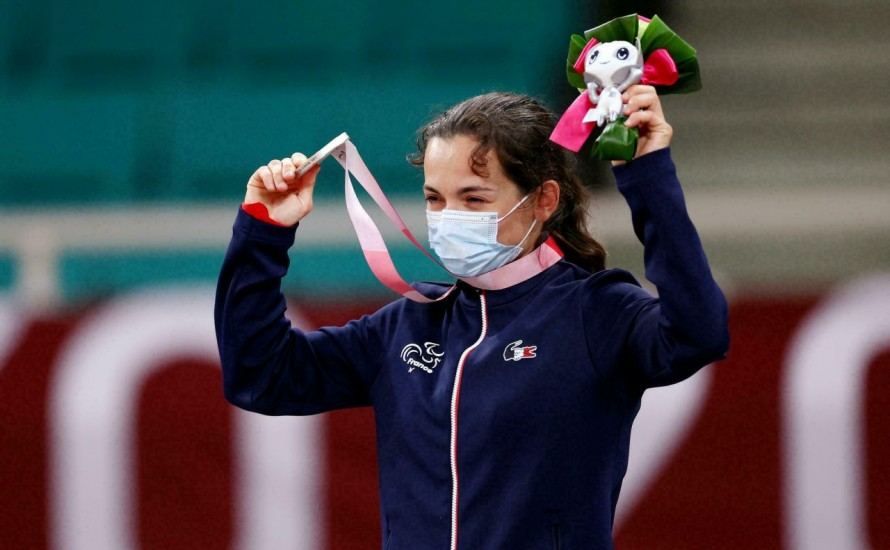 Sandrine MARTINET - Une mâconnaise médaille d'argent aux Jeux Paralympiques de TOKYO