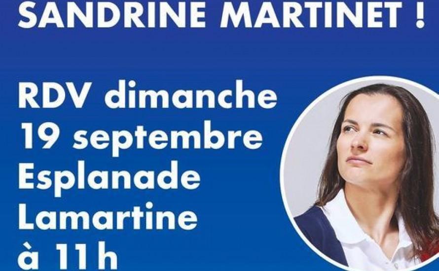 Fêtons la médaille de Sandrine MARTINET